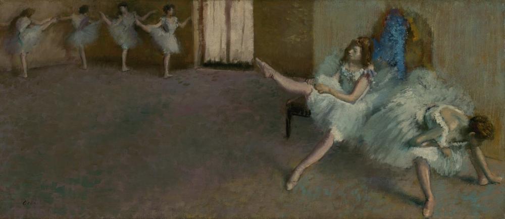 Edgar Degas Before The Ballet, Canvas, Edgar Degas, kanvas tablo, canvas print sales