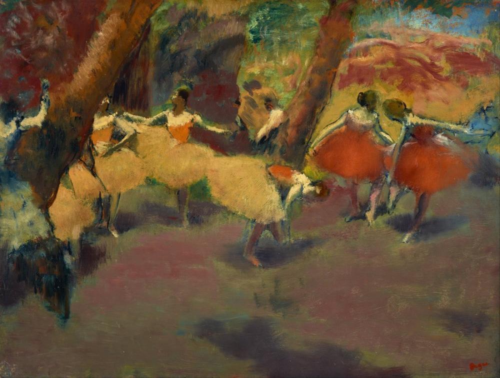 Edgar Degas Before The Performance, Canvas, Edgar Degas, kanvas tablo, canvas print sales