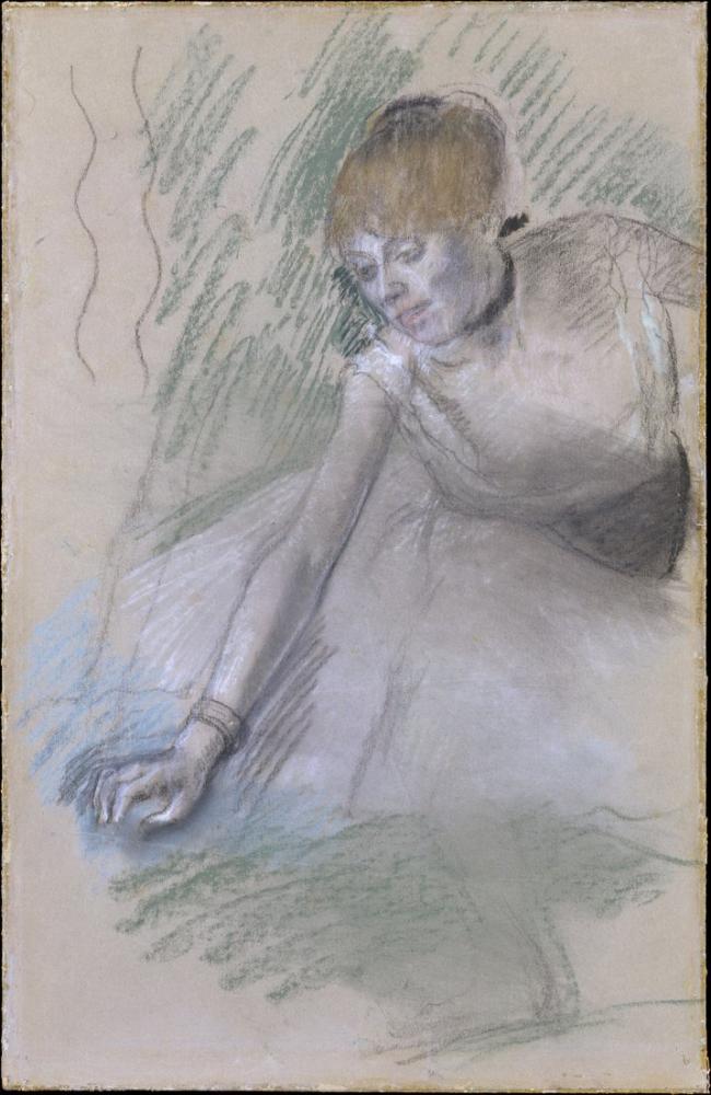 Edgar Degas Dancer I, Canvas, Edgar Degas, kanvas tablo, canvas print sales