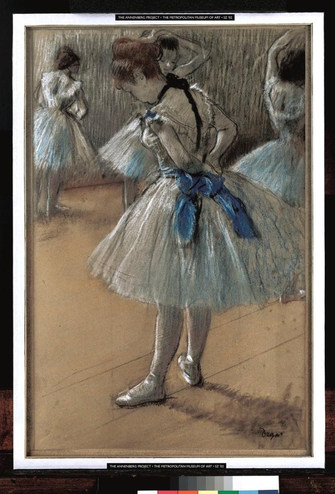 Edgar Degas Dancer II, Canvas, Edgar Degas, kanvas tablo, canvas print sales