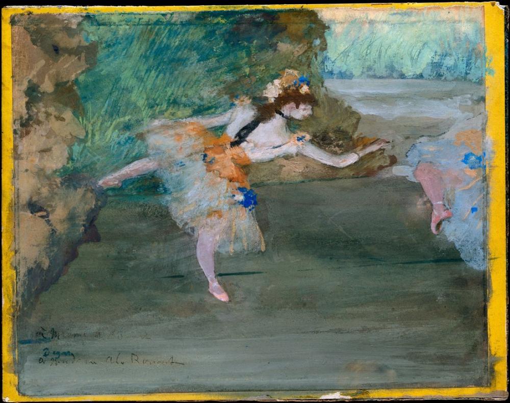 Edgar Degas Dancer In Onstage DT, Canvas, Edgar Degas, kanvas tablo, canvas print sales