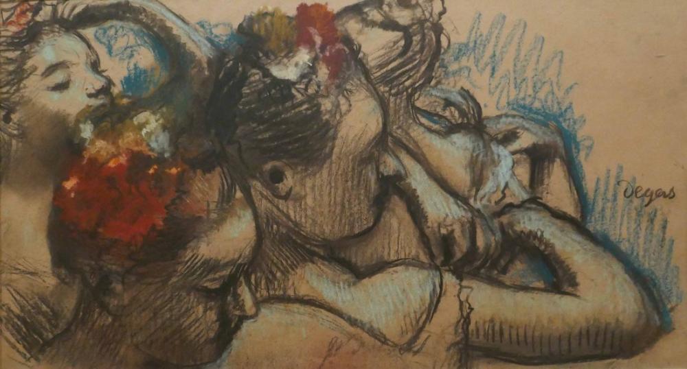 Edgar Degas Dancers Hermitage Museum, Canvas, Edgar Degas, kanvas tablo, canvas print sales