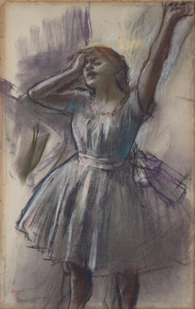 Edgar Degas Dancer Stretching, Canvas, Edgar Degas, kanvas tablo, canvas print sales