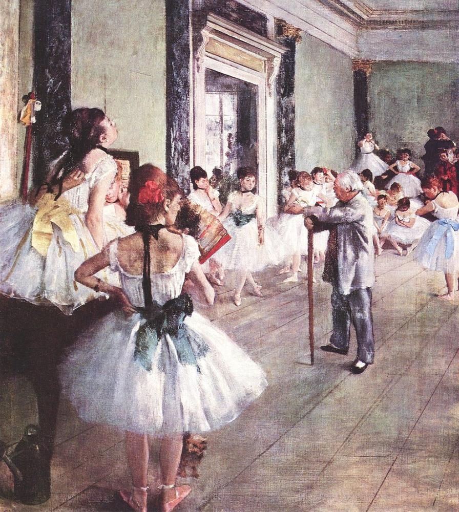 Edgar Degas Cours De Danse, Canvas, Edgar Degas, kanvas tablo, canvas print sales