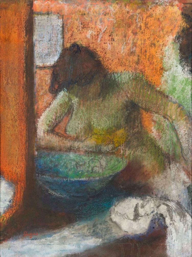 Edgar Degas Kadın Tuvalette, Kanvas Tablo, Edgar Degas, kanvas tablo, canvas print sales