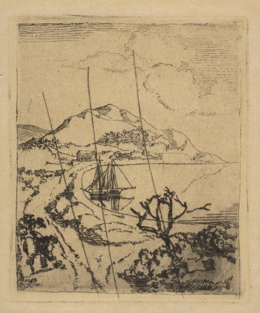 Edgar Degas Yunan Manzara, Kanvas Tablo, Edgar Degas, kanvas tablo, canvas print sales