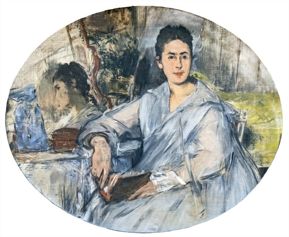 Edouardo Manet Augustins Marguerite De Conflans, Canvas, Édouard Manet, kanvas tablo, canvas print sales