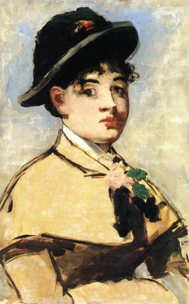 Edouardo Manet Young Woman With The Pilgrim, Canvas, Édouard Manet, kanvas tablo, canvas print sales