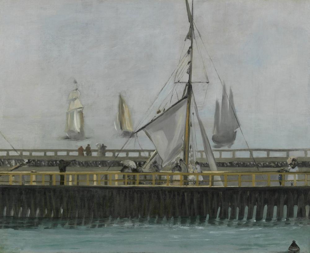 Edouardo Manet Boulogne On The Sea, Canvas, Édouard Manet, kanvas tablo, canvas print sales
