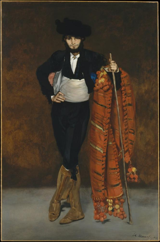 Edouardo Manet Young Man In The Costume Of A Majo, Canvas, Édouard Manet, kanvas tablo, canvas print sales