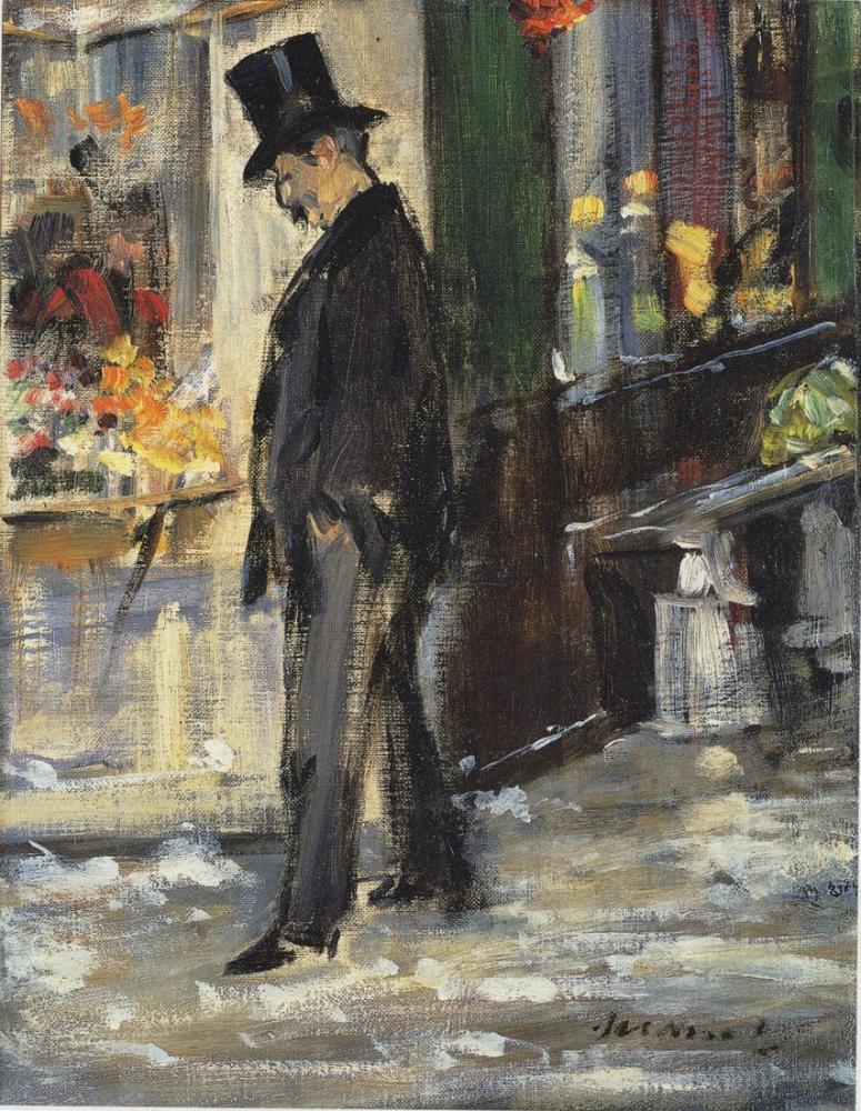 Edouardo Manet Walker, Canvas, Édouard Manet, kanvas tablo, canvas print sales
