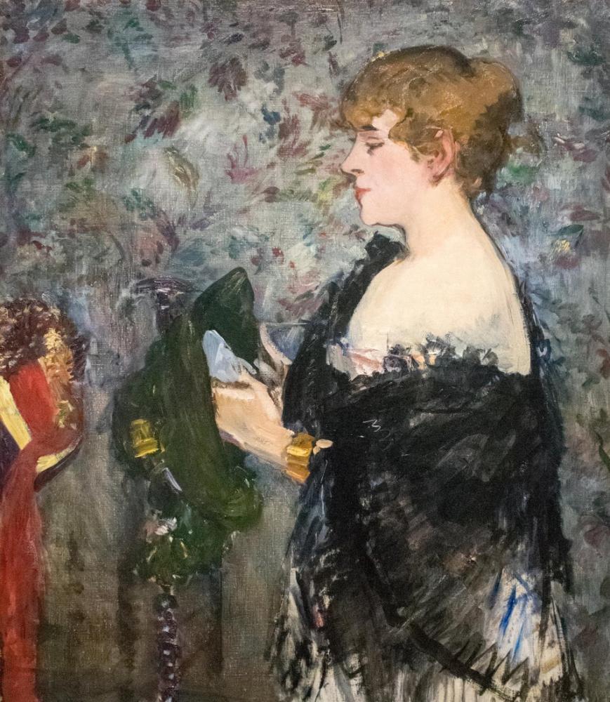 Edouardo Manet At The Milliners, Canvas, Édouard Manet, kanvas tablo, canvas print sales