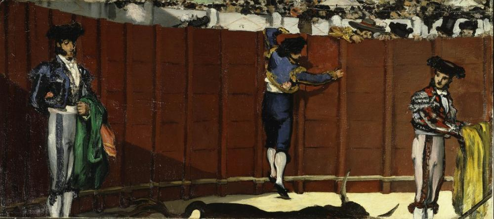 Edouardo Manet The Bullfight, Canvas, Édouard Manet, kanvas tablo, canvas print sales