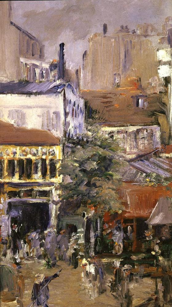Edouardo Manet Place Clichy, Canvas, Édouard Manet, kanvas tablo, canvas print sales
