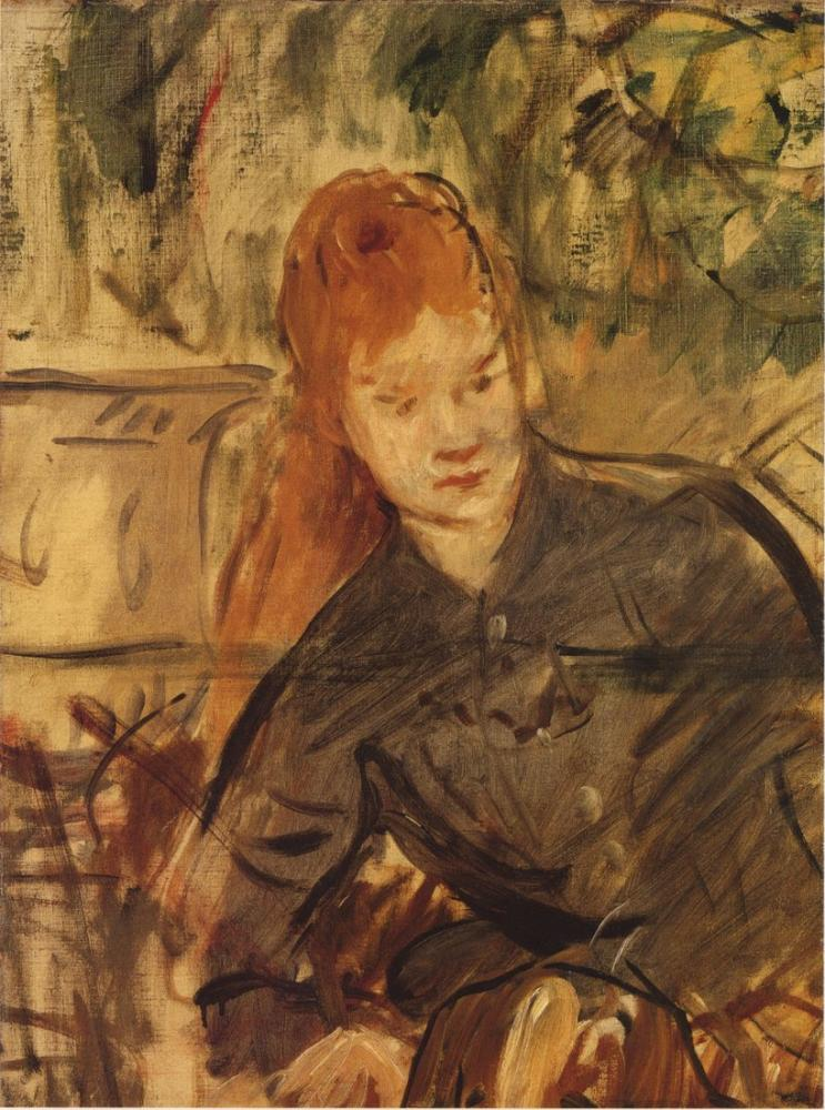 Edouardo Manet Mid Body Woman, Canvas, Édouard Manet, kanvas tablo, canvas print sales