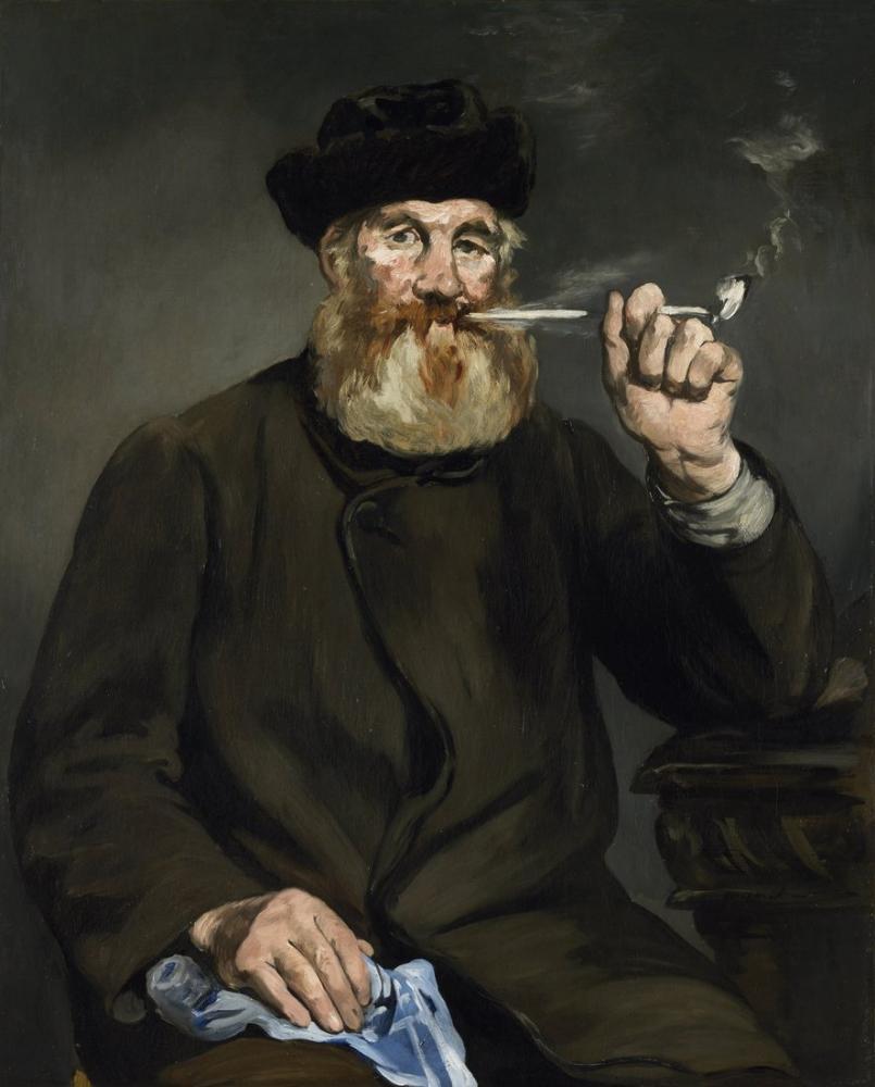 Edouardo Manet The Smoker, Canvas, Édouard Manet, kanvas tablo, canvas print sales
