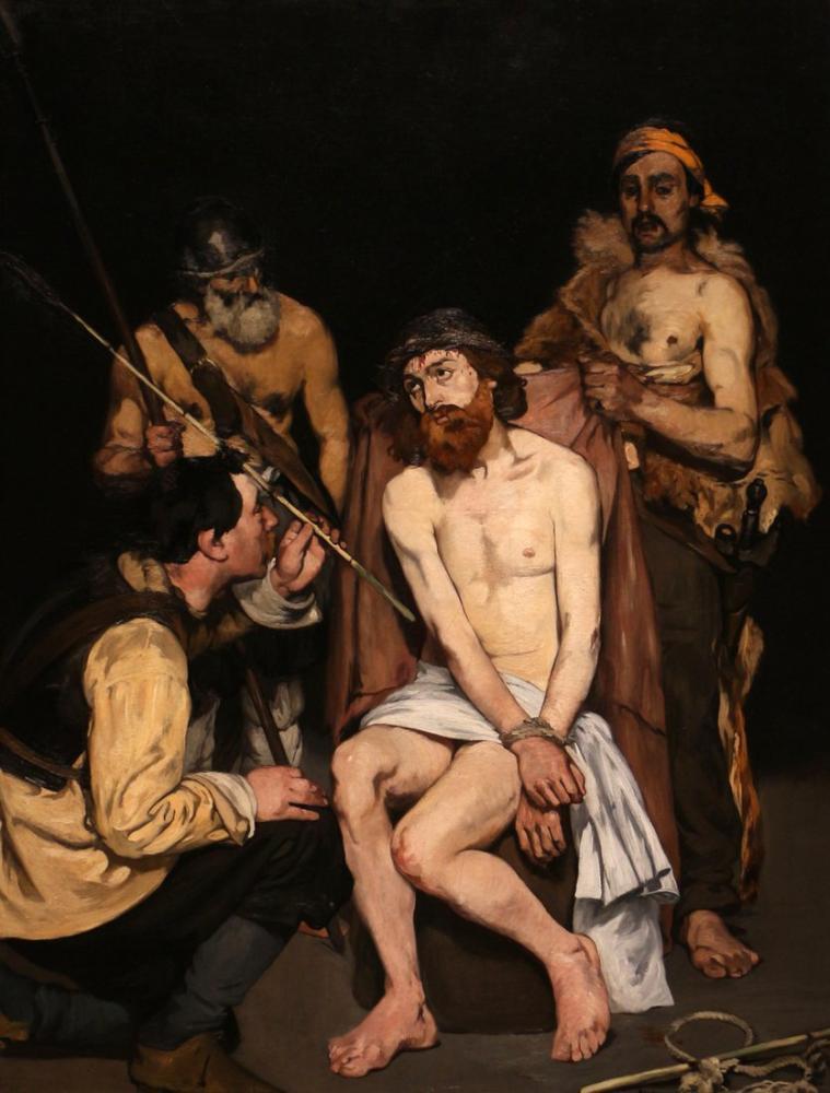 Edouard Manet Mesih Taklit Etmek, Kanvas Tablo, Édouard Manet, kanvas tablo, canvas print sales