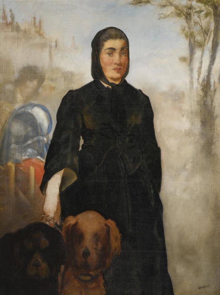 Edouard Manet Sürpriz Perisi I, Kanvas Tablo, Édouard Manet, kanvas tablo, canvas print sales
