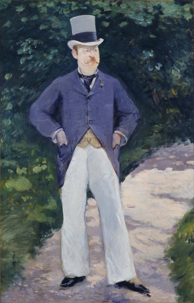 Edouard Manet Portrait Of Monsieur Brun, Canvas, Édouard Manet, kanvas tablo, canvas print sales