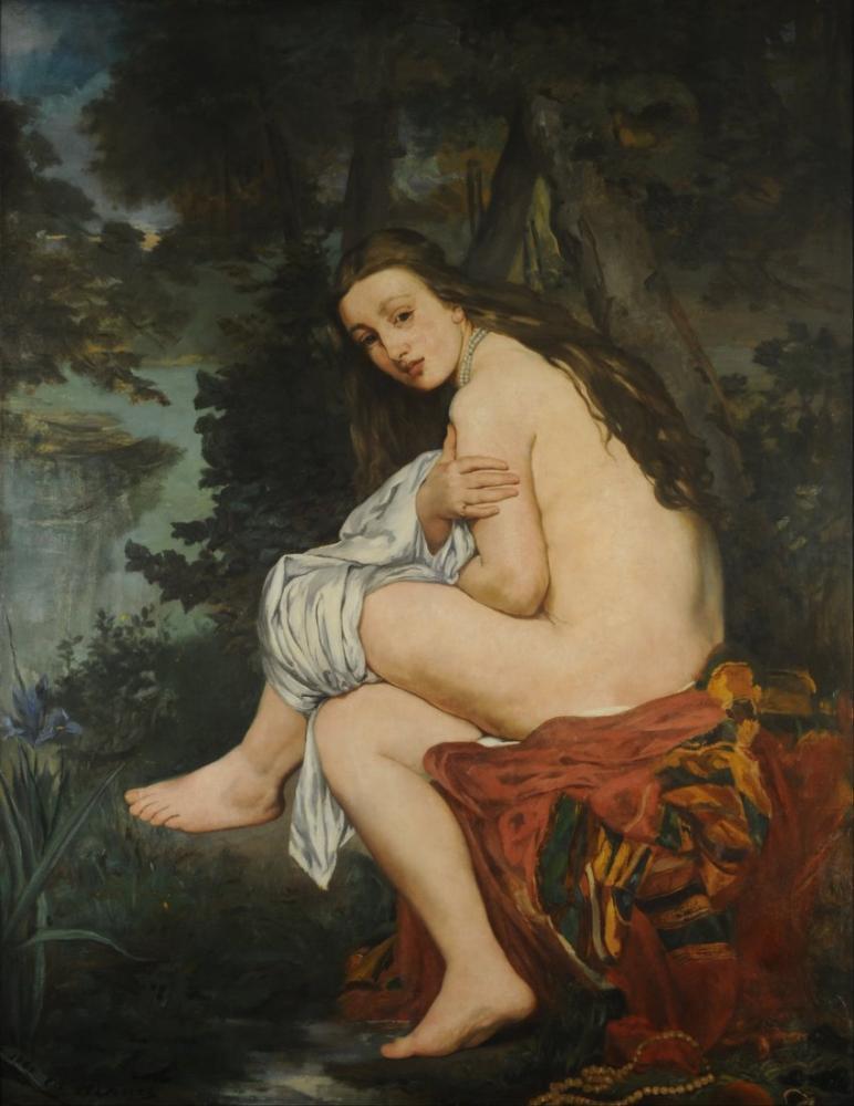Edouard Manet The Surprise Nymph, Canvas, Édouard Manet, kanvas tablo, canvas print sales