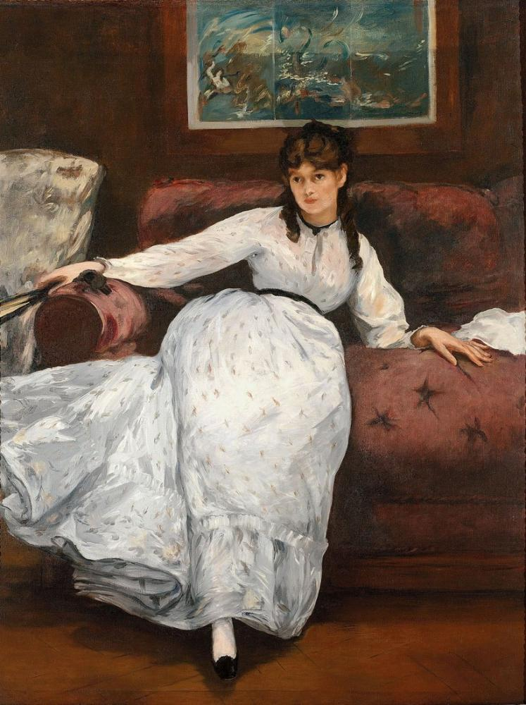 Edouard Manet Dinlenme, Kanvas Tablo, Édouard Manet, kanvas tablo, canvas print sales