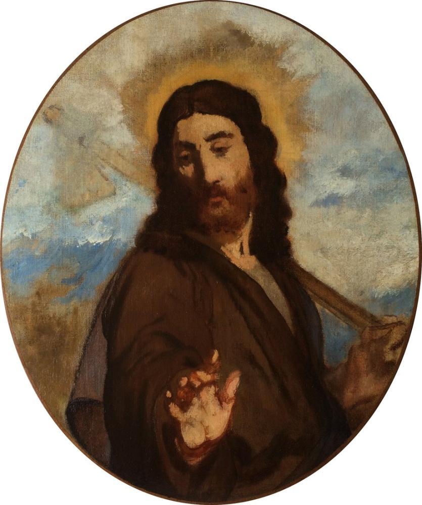 Edouard Manet Bahçıvan Mesih, Kanvas Tablo, Édouard Manet, kanvas tablo, canvas print sales