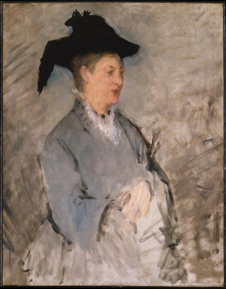 Edouardo Manet, Madame Suzanne Leenhoff, Canvas, Édouard Manet, kanvas tablo, canvas print sales