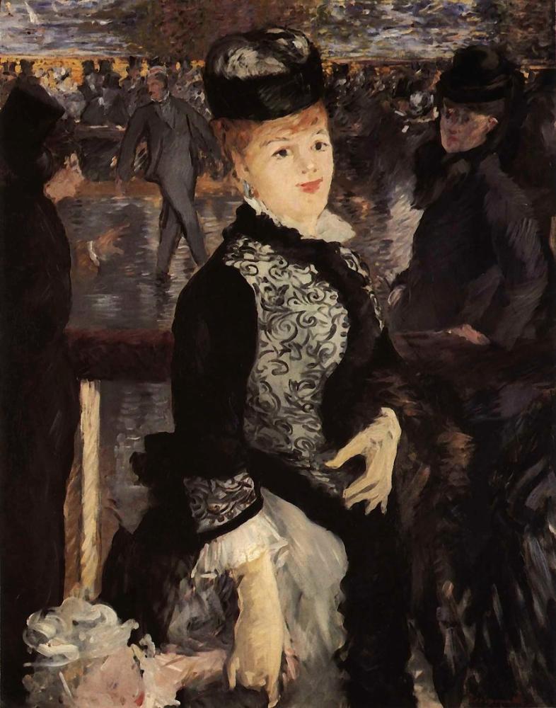 Edouard Manet The Skating, Canvas, Édouard Manet, kanvas tablo, canvas print sales