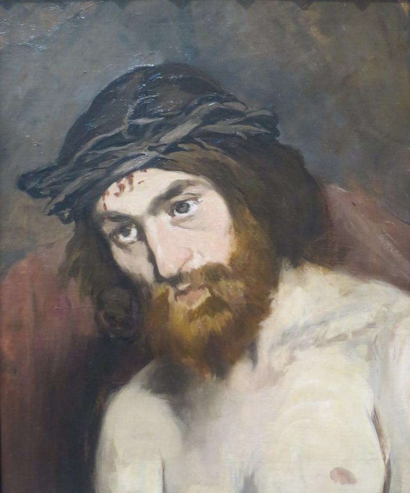 Edouard Manet The Head Of Christ, Canvas, Édouard Manet, kanvas tablo, canvas print sales