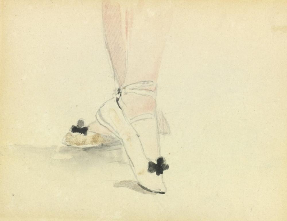 Edouard Manet Ballet Shoes, Canvas, Édouard Manet, kanvas tablo, canvas print sales