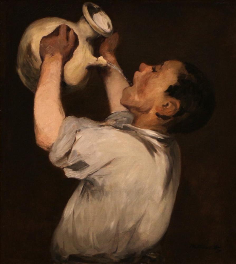 Edouard Manet Boy With A Jug The Regalade, Canvas, Édouard Manet, kanvas tablo, canvas print sales