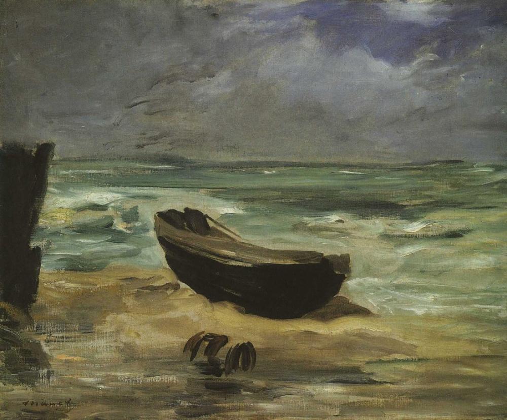 Edouard Manet Yükselen Gelgit, Kanvas Tablo, Édouard Manet, kanvas tablo, canvas print sales