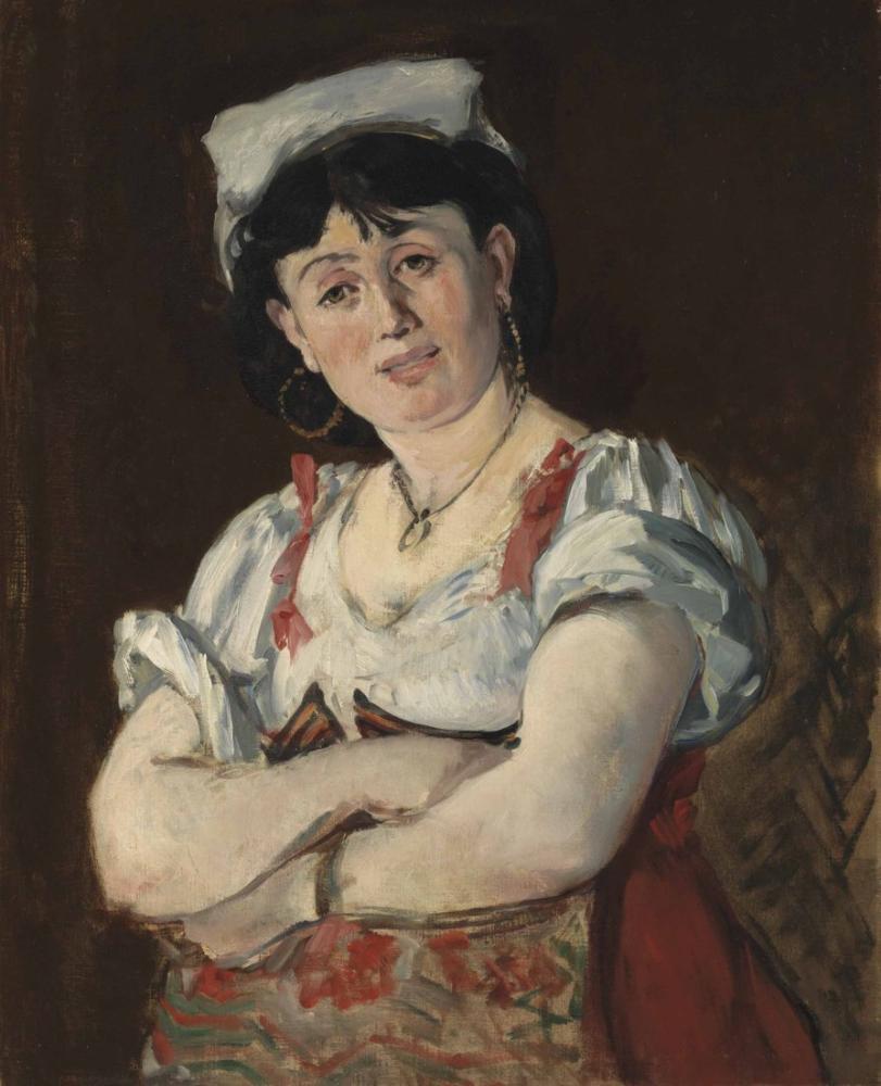 Edouard Manet The Italian, Canvas, Édouard Manet, kanvas tablo, canvas print sales