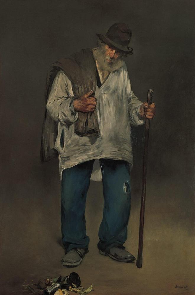 Edouard Manet Paçavracı, Kanvas Tablo, Édouard Manet, kanvas tablo, canvas print sales