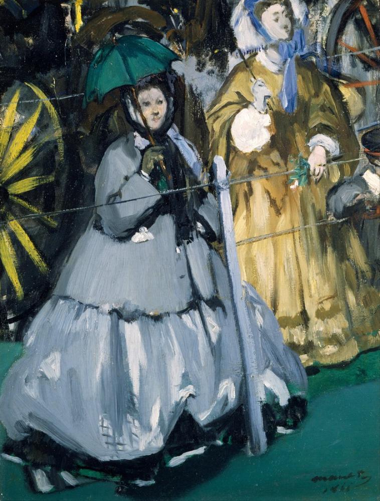 Edouardo Manet Women At The Races, Canvas, Édouard Manet, kanvas tablo, canvas print sales