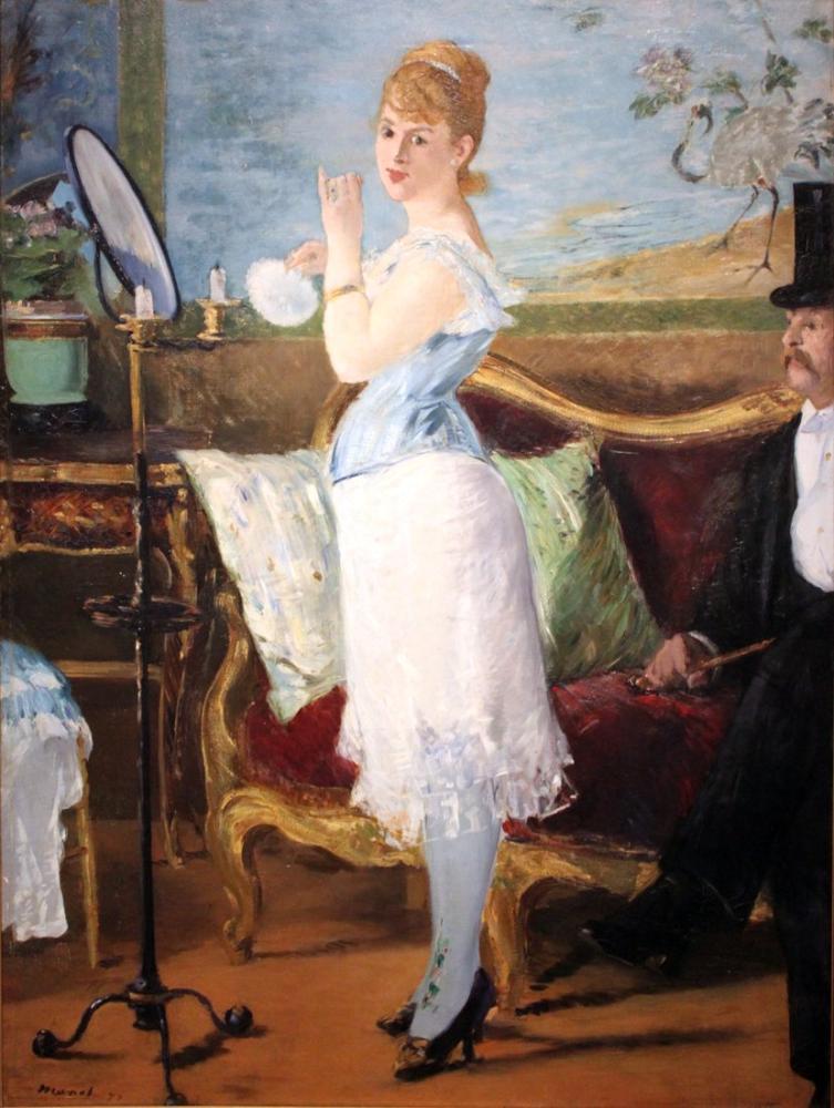 Edouardo Manet Nana, Canvas, Édouard Manet, kanvas tablo, canvas print sales