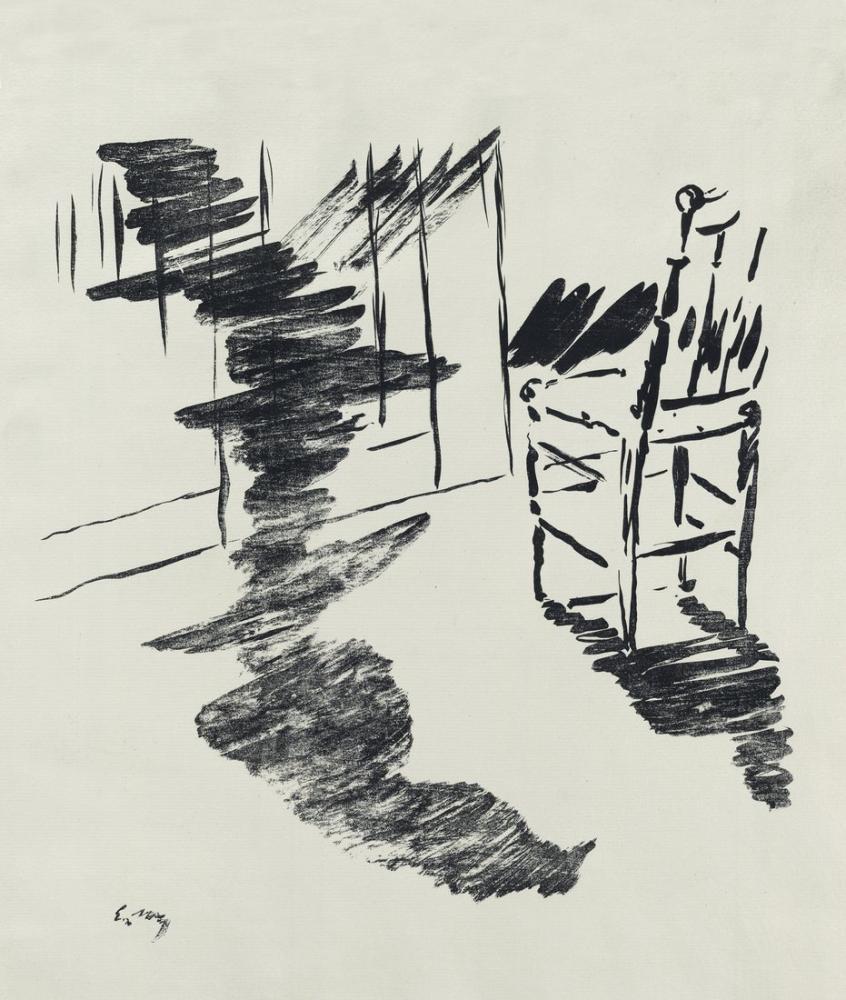 Edouardo Manet A Illustration, Canvas, Édouard Manet, kanvas tablo, canvas print sales