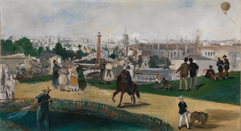 Edouardo Manet From The World Exhibition In Paris, Canvas, Édouard Manet, kanvas tablo, canvas print sales