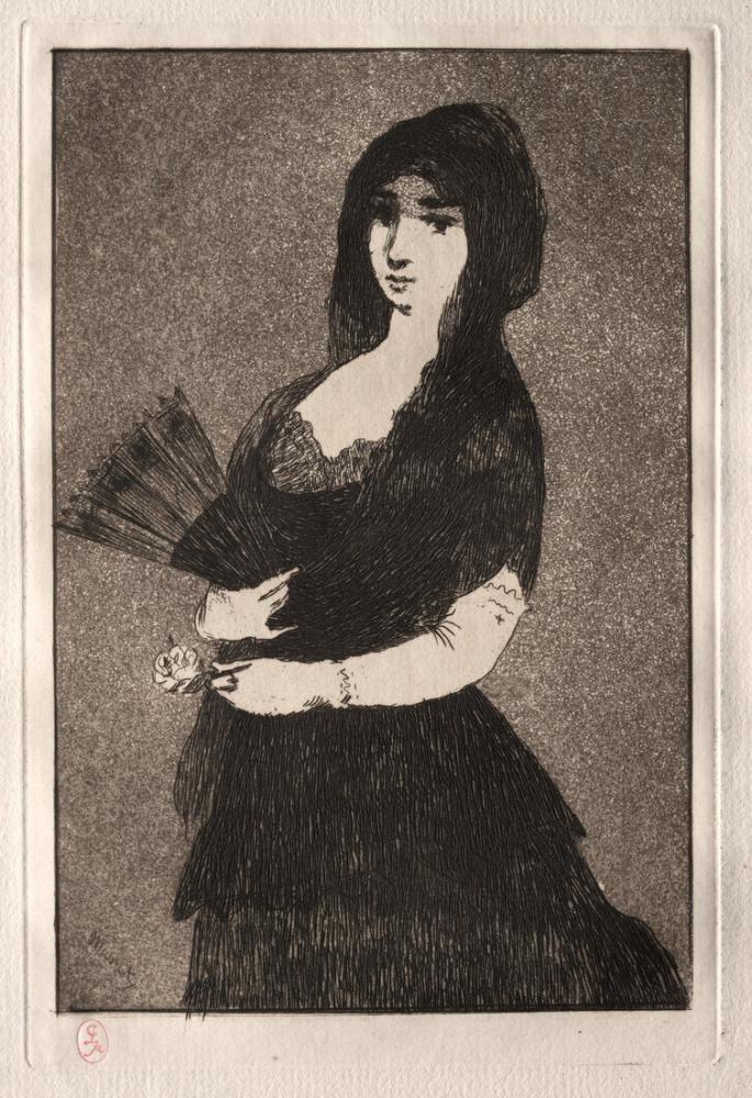 Edouardo Manet Exotic Flower Fleur Exotique, Canvas, Édouard Manet, kanvas tablo, canvas print sales