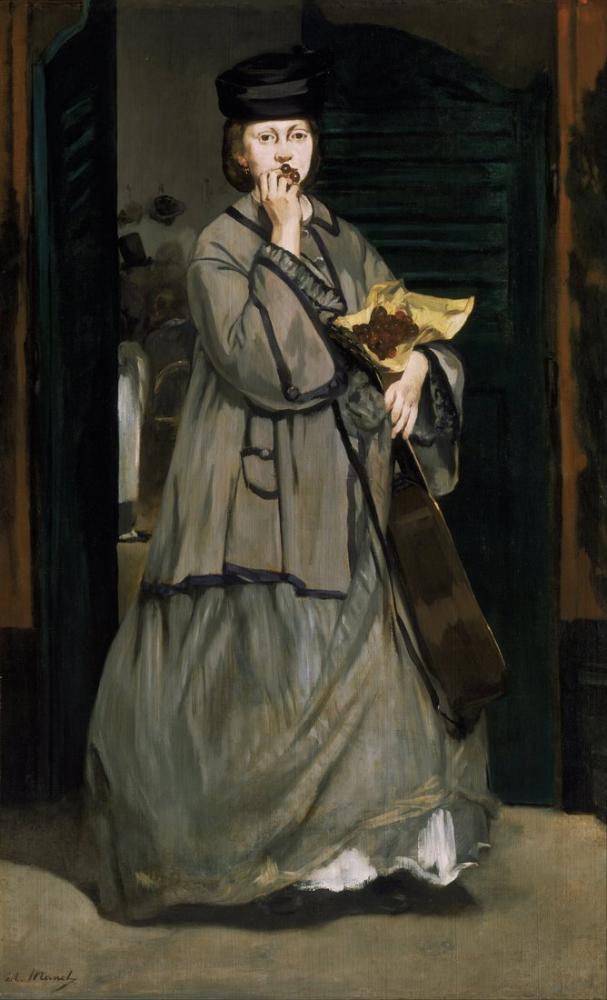 Edouardo Manet Street Singer, Canvas, Édouard Manet, kanvas tablo, canvas print sales