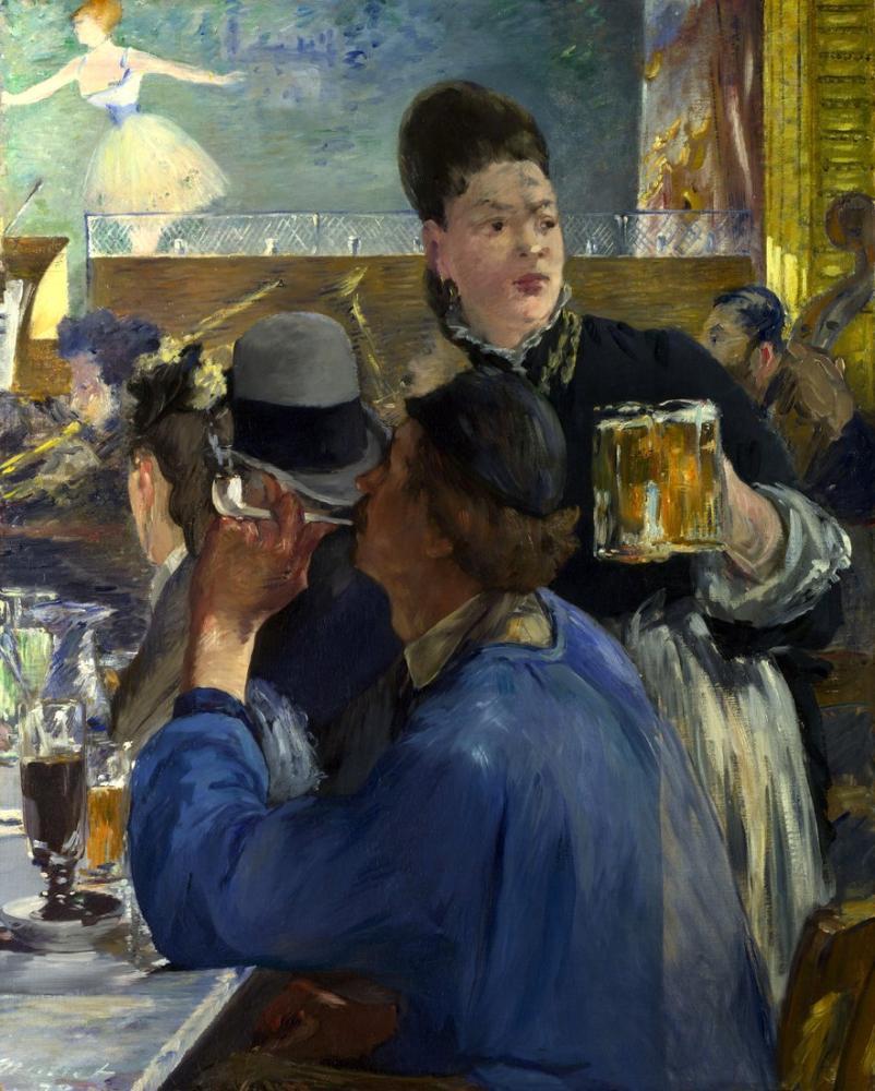 Edouardo Manet  Corner Of A Cafe Concert, Canvas, Édouard Manet, kanvas tablo, canvas print sales