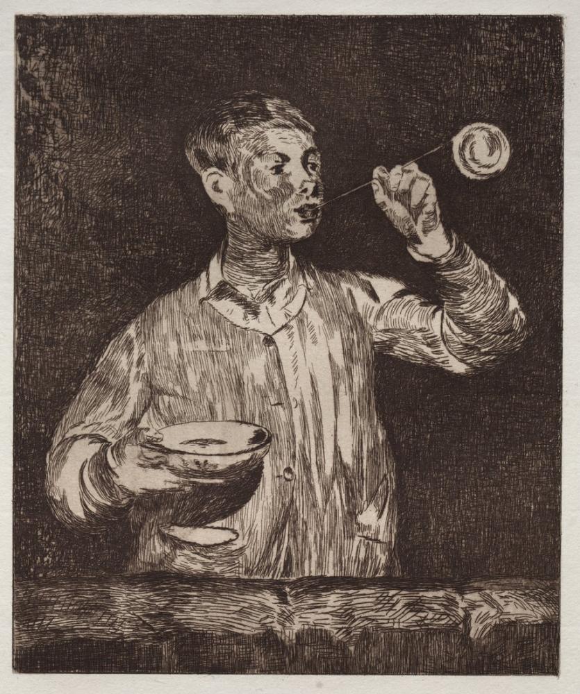 Edouardo Manet The Boy With Soap Bubbles, Canvas, Édouard Manet, kanvas tablo, canvas print sales