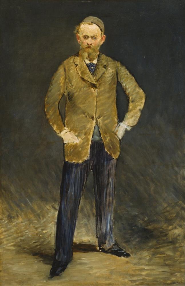 Edouardo Manet Self Portrait, Canvas, Édouard Manet, kanvas tablo, canvas print sales