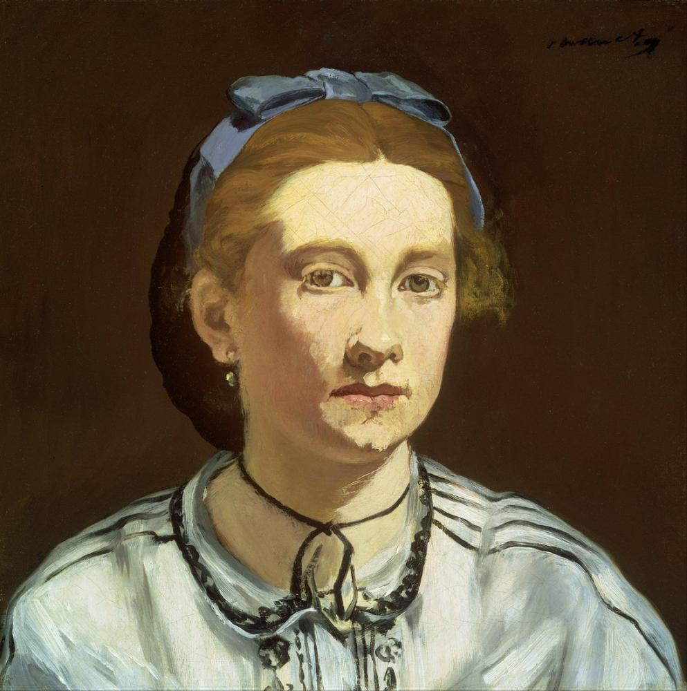 Edouardo Manet Victorine Meurent, Canvas, Édouard Manet, kanvas tablo, canvas print sales