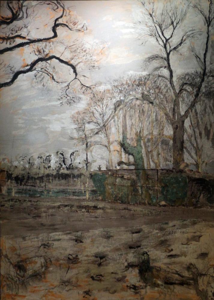 Edouard Vuillard, Tavus Kuşu ile Kış Bahçesi, Kanvas Tablo, Édouard Vuillard, kanvas tablo, canvas print sales
