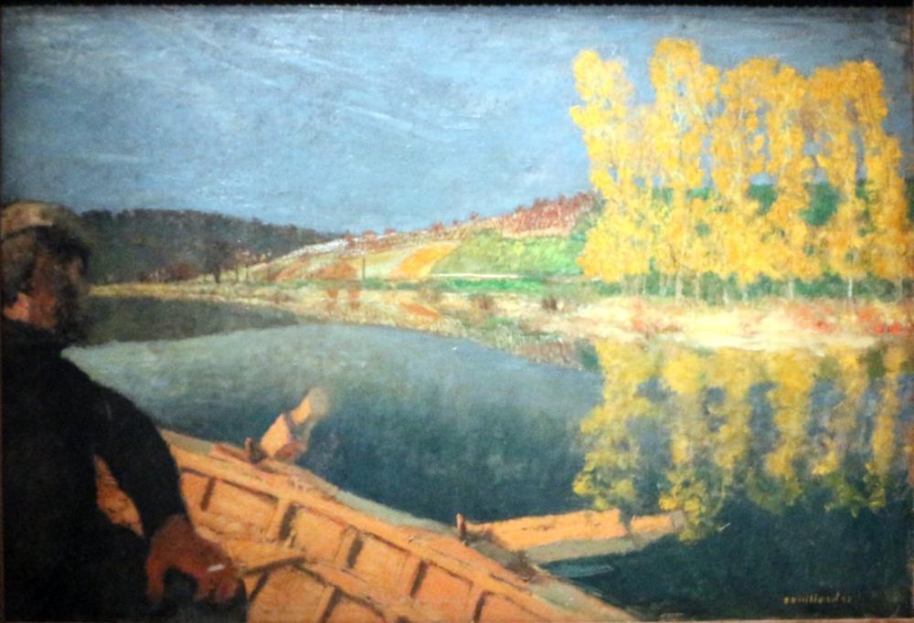Edouard Vuillard, il Traghettatore, Canvas, Édouard Vuillard, kanvas tablo, canvas print sales