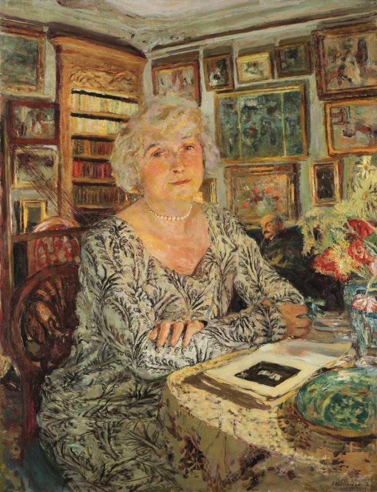 Edouard Vuillard,  A Lucy Hessel, Canvas, Édouard Vuillard, kanvas tablo, canvas print sales