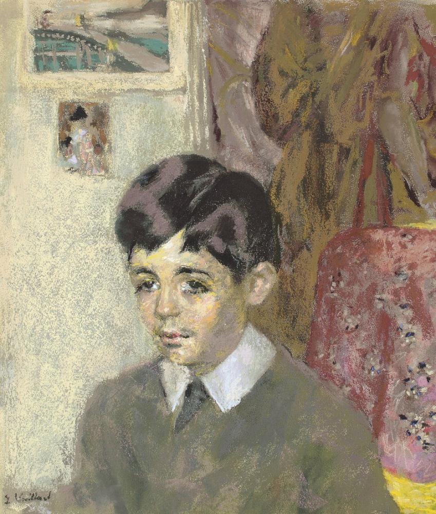 Edouard Vuillard, Jacques Laroche Çocuk, Kanvas Tablo, Édouard Vuillard, kanvas tablo, canvas print sales