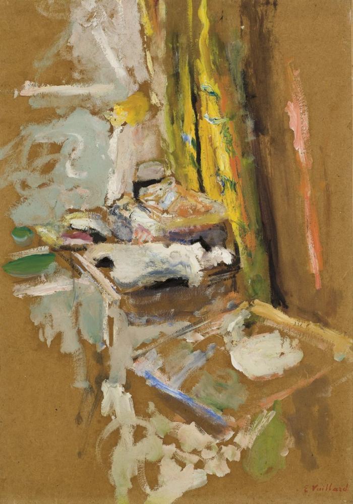 Edouard Vuillard, La Boîte à Ouvrage, Figure, Édouard Vuillard, kanvas tablo, canvas print sales