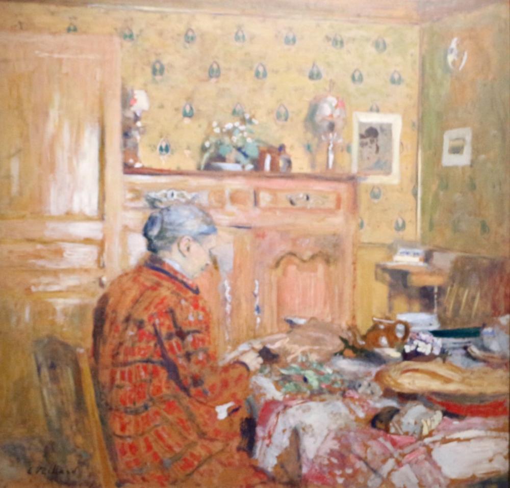 Edouard Vuillard, Kahvaltı, Kanvas Tablo, Édouard Vuillard, kanvas tablo, canvas print sales